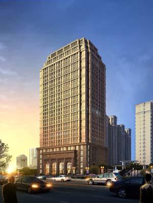 """9月与青海创新集团公司签约,为其在青海西宁市投资建设的五星级""""图片"""